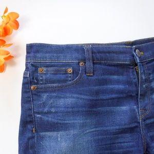 J Crew Indigo Denim Jean Shorts Size 30